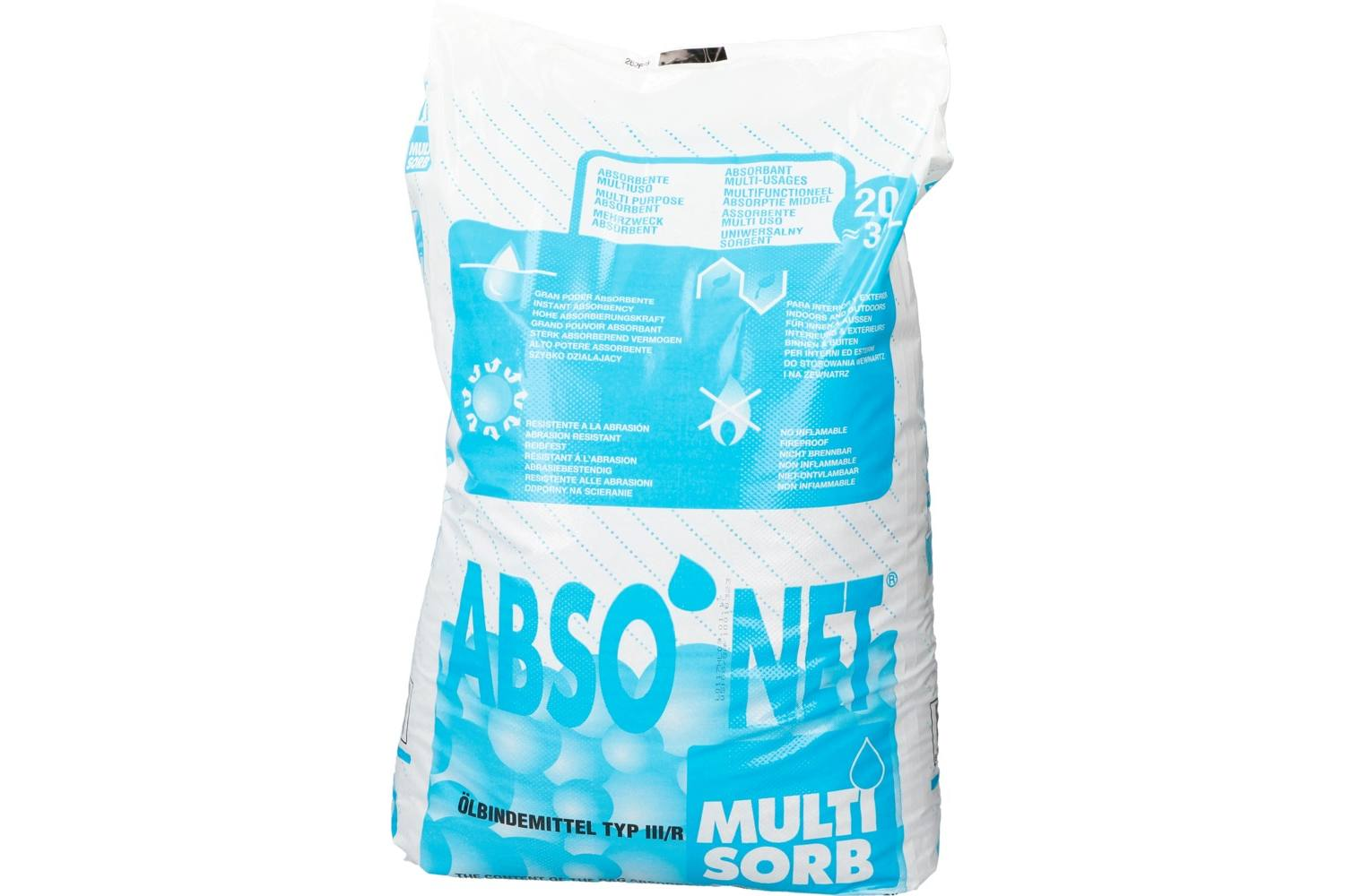 Absorptiekorrels, Multi Sorb, 20kg 2