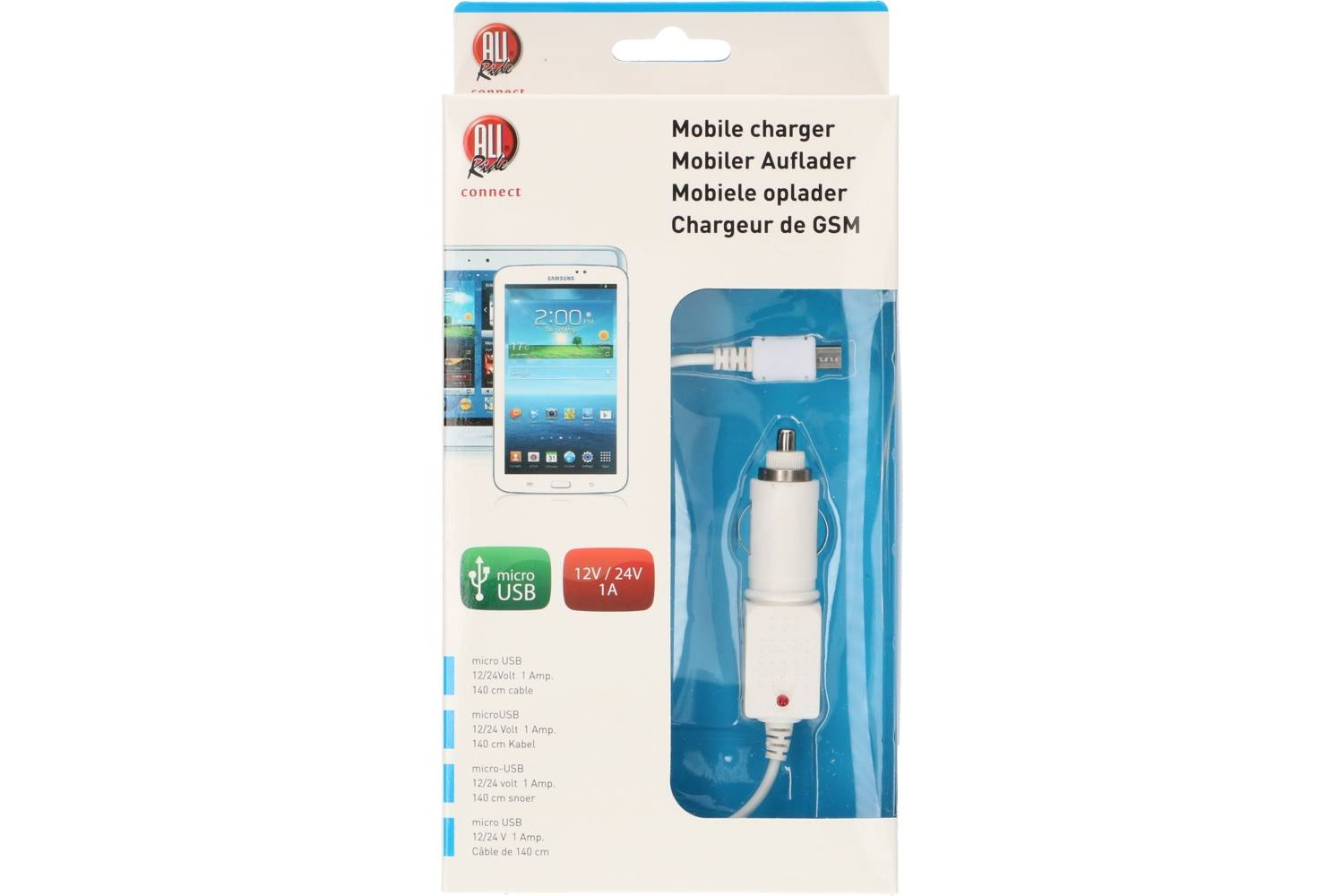 Chargeur, AllRide, micro usb 2