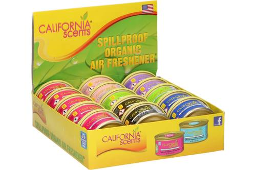 Display, California Scents, Luchtverfrisser, toonbank, 15 stuks 1